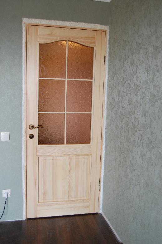 Ремонт межкомнатных дверей со стеклом