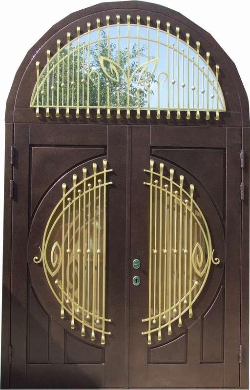 входная дверь два листа за 12000