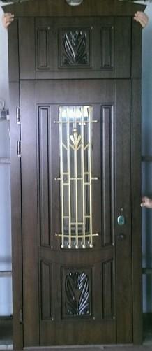 Двери входные с накладками мдф