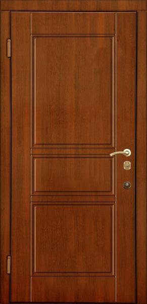 входные металлические двери в квартиру со шпоном мдф