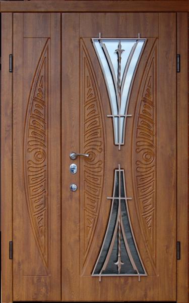 двойные двери в дом
