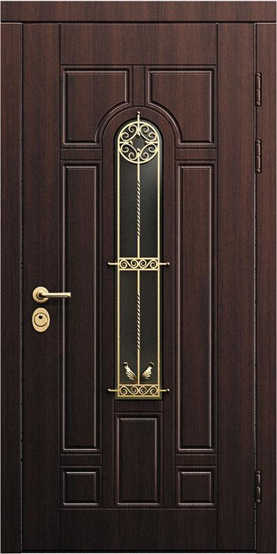 дверь металлическая входная со стеклопакетом цена в москве