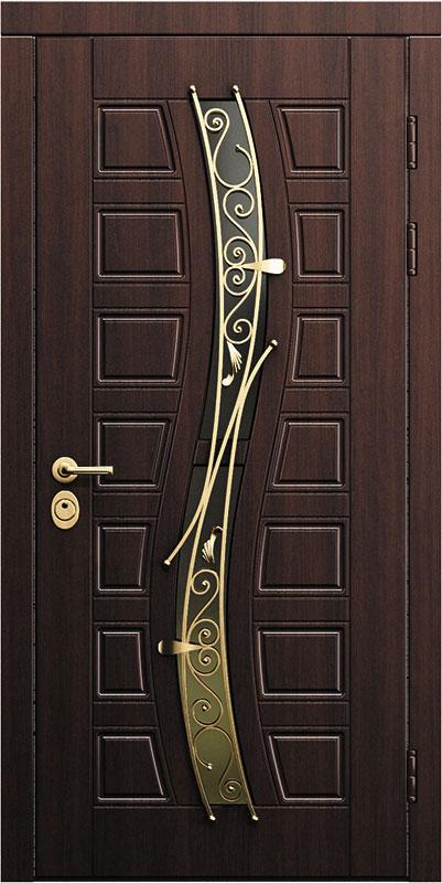 красивые и стильные металлические двери