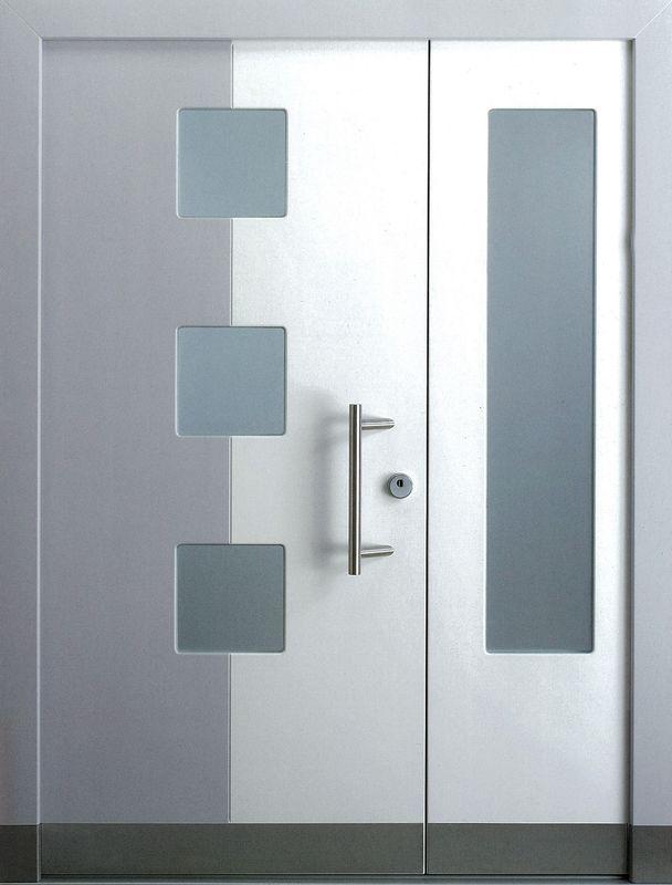 новые современные металлические двери