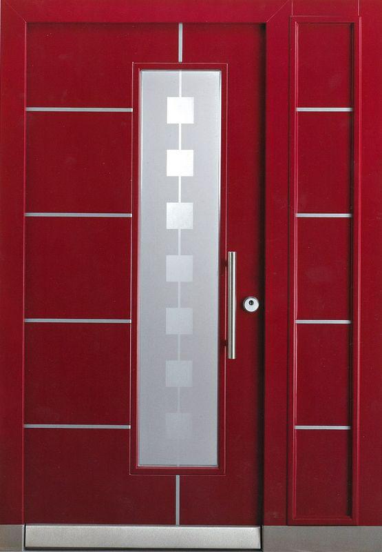 дверь входная для коттеджа полуторная