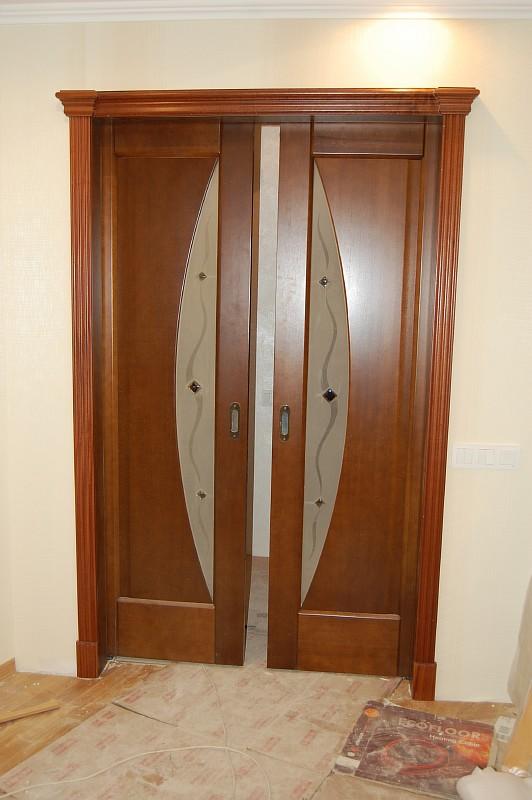 Терминус-межкомнатые двери модель-луна каштан