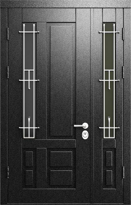 дверь металлическая входная со стеклом двойная цена